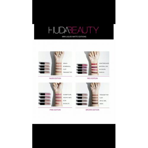 Huda beauty mini liquid matte editions